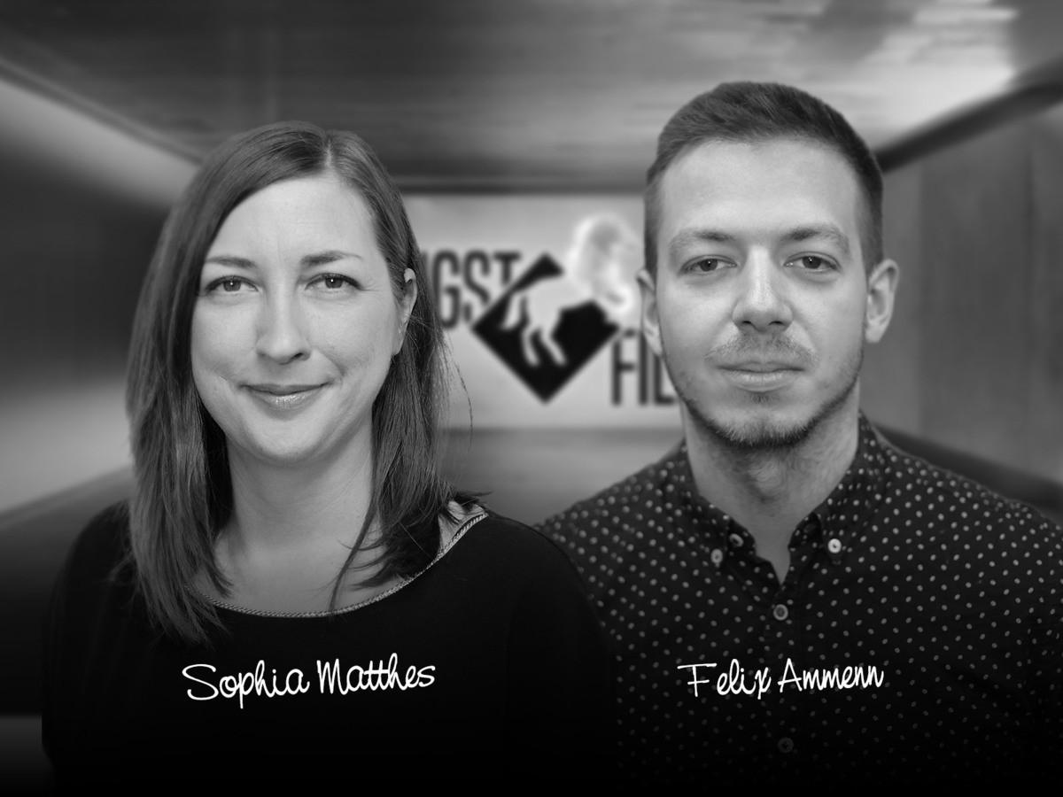 Projektleitung Sophia Matthes und Felix Ammen freuen sich auf Sie, © HENGST FILM